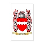 Papworth 20x12 Wall Decal