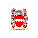 Papworth 35x21 Wall Decal