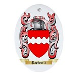 Papworth Oval Ornament