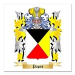 Papas Square Car Magnet 3