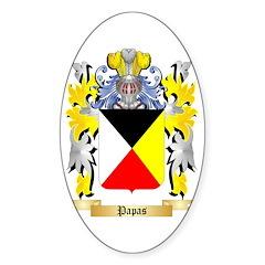 Papas Sticker (Oval 50 pk)