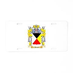 Papas Aluminum License Plate