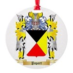Papart Round Ornament