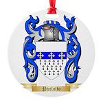 Paolotto Round Ornament