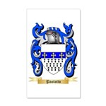 Paolotto 20x12 Wall Decal