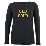 Old Gold Plus Size Long Sleeve Tee
