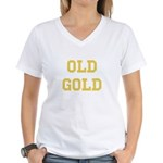 Old Gold Women's V-Neck T-Shirt