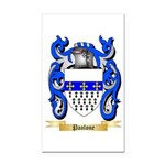 Paolone Rectangle Car Magnet