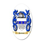Paolone 35x21 Oval Wall Decal