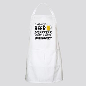 I Make Beer Disappear Apron