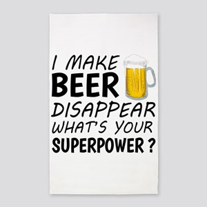 I Make Beer Disappear Area Rug