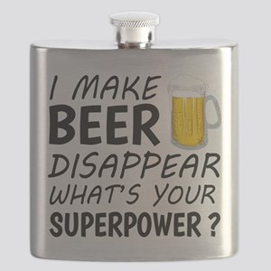 I Make Beer Disappear Flask