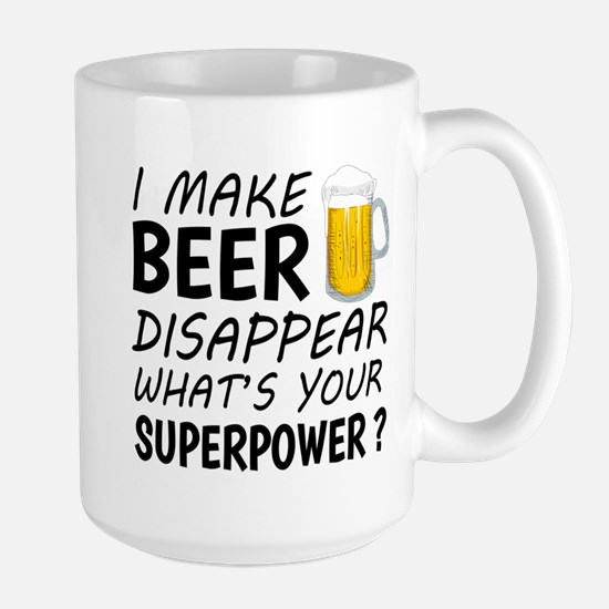 I Make Beer Disappear Mugs