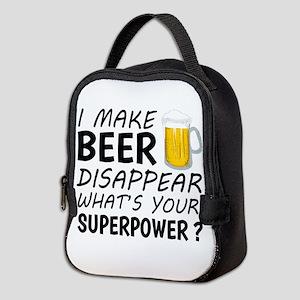 I Make Beer Disappear Neoprene Lunch Bag