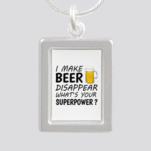 I Make Beer Disappear Necklaces