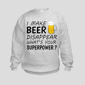 I Make Beer Disappear Sweatshirt