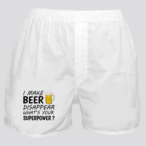 I Make Beer Disappear Boxer Shorts