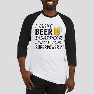 I Make Beer Disappear Baseball Jersey
