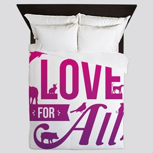 Love for All Queen Duvet