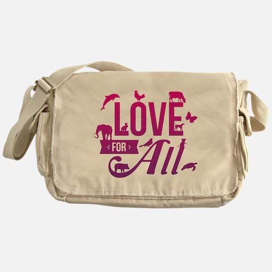Love for All Messenger Bag