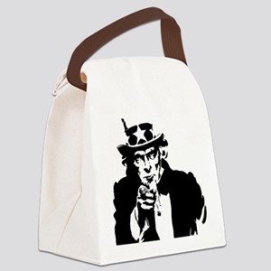 Uncle Sam America Canvas Lunch Bag
