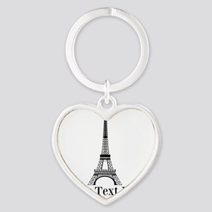 Personalizable Eiffel Tower Keychains