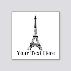 Personalizable Eiffel Tower Sticker