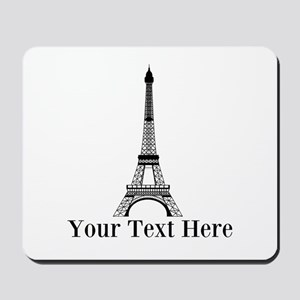 Personalizable Eiffel Tower Mousepad