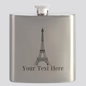 Personalizable Eiffel Tower Flask