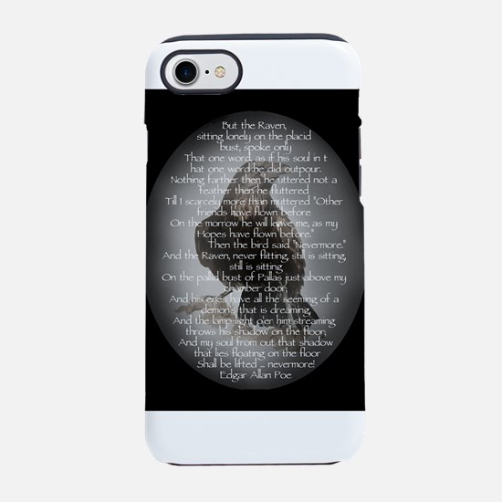 Edgar Allan Poe The Raven Po iPhone 8/7 Tough Case