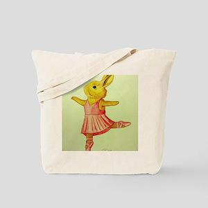 Ballerina Bunny Tote Bag