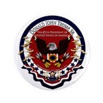 Donald Trump Sr. Inauguration 2017 Button