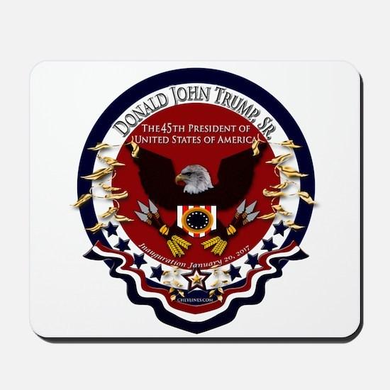 Donald Trump Sr. Inauguration 2017 Mousepad