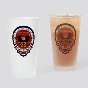 Donald Trump Sr. Inauguration 2017 Drinking Glass
