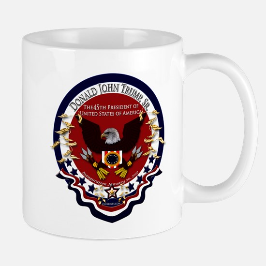 Donald Trump Sr. Inauguration 2017 Mug