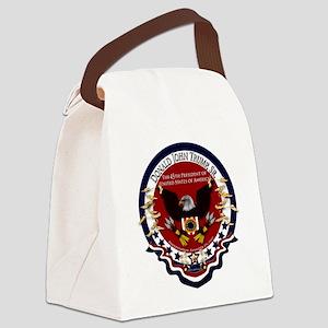 Donald Trump Sr. Inauguration 201 Canvas Lunch Bag