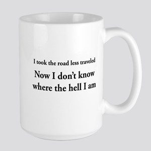 The road less traveled Mugs