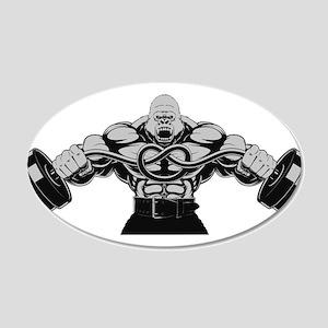 Gym Maniac Wall Sticker