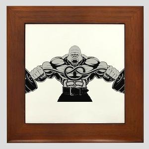 Gym Maniac Framed Tile