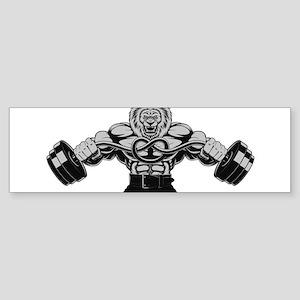 Gym Maniac Bumper Sticker