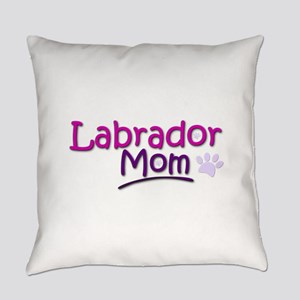 Labrador Mom Everyday Pillow