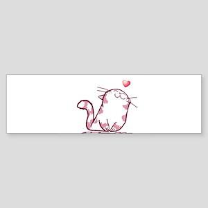Kitty Love Bumper Sticker