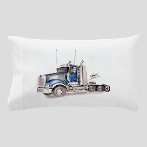 Blue Truck Pillow Case