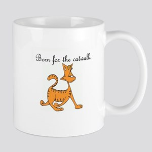 CAT - Born for the catwalk Mugs