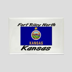 Fort Riley North Kansas Rectangle Magnet