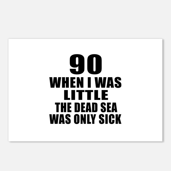 90 When I Was Little Birt Postcards (Package of 8)