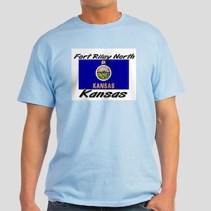 Fort Riley North Kansas Light T-Shirt