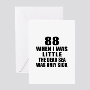 88 When I Was Little Birthday Greeting Card