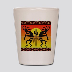 Southwest Design Dancing Kokopelli Shot Glass