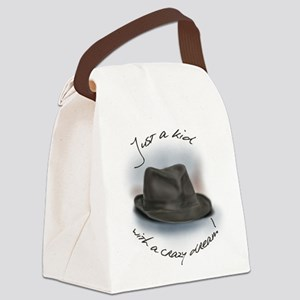 Hat For Leonard Crazy Dream Canvas Lunch Bag